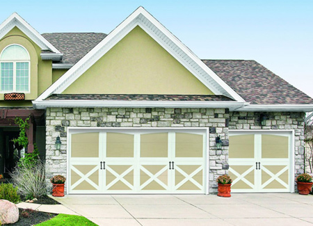 Carriage House Garage Doors in North Carolina - Image